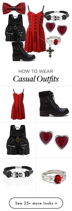 """""""Casual Grunge"""" by mini-moomoo on Polyvore featuring Moschino, Jas M.B., Bling Jewelry, ZuZu Kim and NOVICA"""