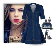 """""""Denim Dress"""" by easy-dressing ❤ liked on Polyvore featuring Silver Forest and STELLA McCARTNEY"""