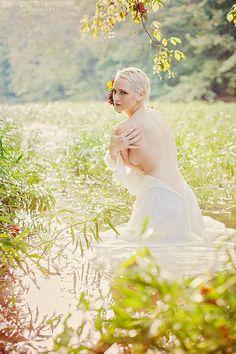 Water bride.  Bernadette Newberry Photography. (Cincinnati, OH)