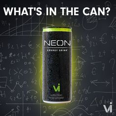 What's in a Can of NEON Energy Drink? Neon Energy Drink - The Review www.angelmanifest11.neonenergyclub.com