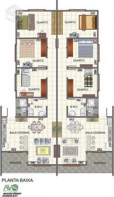 Planta De Casas Com 3 Quartos E 2 Banheiros, casa geminadas com quartos r venda casas e