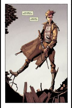 A page from Peter Panzerfaust #1