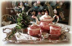 Rose Chintz Cottage: An Old-fashioned Christmas Tea