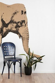Elephant Wall Decal $99