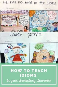 A great post with a FREE download on how to teach idioms in the elementary classroom. A great, easy, and fun activity to do with your students! Could even be used with your middle school students as well.