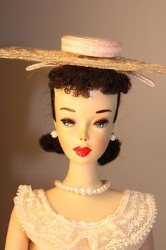 Vintage Barbie Ponytail # 3 Wearing Plantation Belle Outfit | eBay  i have this barbie & outfit -- love it :)