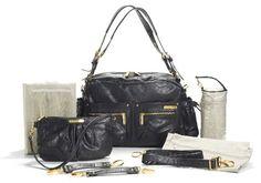Loving this timi & leslie Black Jessica Diaper Bag Set on Black Diaper Bag, Baby Diaper Bags, Jessica Black, Baby Accessories, Body Bag, Timi Leslie, Gym Bag, Purses, Leather