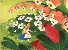 Mary Blair Alice in Wonderland