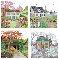 I've always liked a series that features the four seasons.