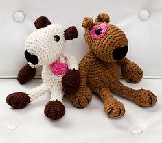 Ravelry: Puppy Love pattern by Nancy Anderson