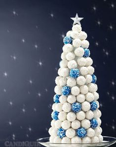 christmas tree with cakepops