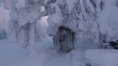 Luosto in Finland