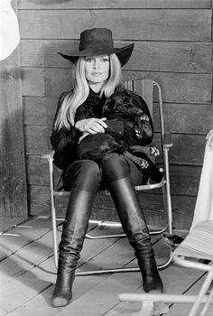 Brigitte Bardot fotografiada por Terry O'Neill, 1971