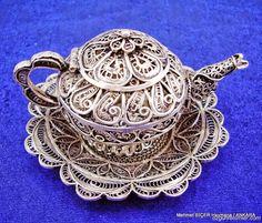 Telkari Sanatı   Çaydanlık