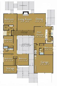 Original Eichler house plans  s  I    ve always loved the idea of    house plan     floorplan by joseph eichler