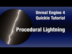 Procedural Lightning Material - UE4 Quickie Tutorial - YouTube