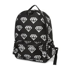 Glittery Diamond Print Backpack   Claire's Like a diamond in a sky that is what reminds me about this