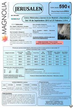 Jerusalen 5ds/4nts desde 590 € - Salidas hasta 27 Febrero 2014 - Incluidos Puentes y Navidad - http://zocotours.com/jerusalen-5ds4nts-desde-590-e-salidas-hasta-27-febrero-2014-incluidos-puentes-y-navidad/