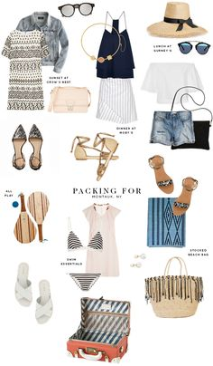What to pack for a girl's weekend in Montauk
