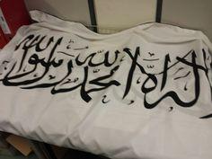 Taifa Al Mansûra — My New tawhid Flag