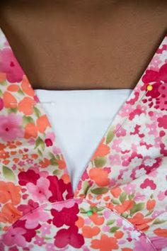 How To Fill In a Low Cut Neckline .... http://pleasantviewschoolhouse.blogspot.com/2011/05/how-to-fill-in-low-cut-neckline.html