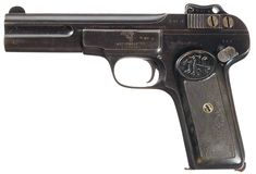 Unique Massive Chinese Copy of an FN/Browning Model 1900 Semi-Automatic Pistol