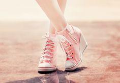 High heels converse fun!!