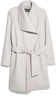 MANGO Lapels wool-blend coat