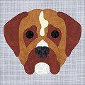 boxer quilt pattern - Google Search