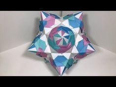【Modular Origami】Eruarusuke A 30 pieces【Kusudama】30 - YouTube