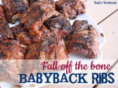 Fall Off the Bone Babyback Ribs on MyRecipeMagic.com  Making these for our Sunday Funday Labor Day weekend! Yummmmm