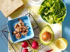 Avocado-Sandwich - Zutaten für  4 Personen: