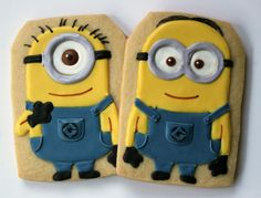Sugar Mama Cookies: Despicable Me Minion Cookies!