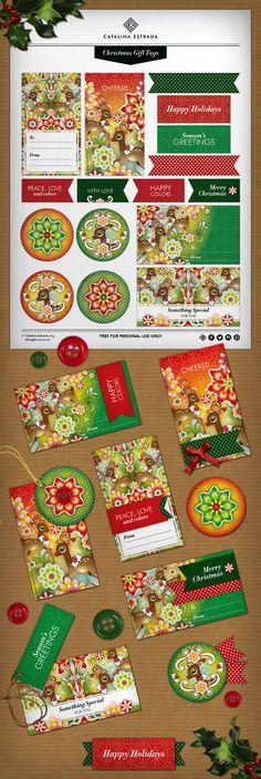 Hola a todos! las Navidades ya están a la vuelta de la esquina y con ellas llegan los reencuentros, los abrazos y los regalos… Aquí tenéis nuestro REGALITO navideño que os hemos preparado con todo nuestro cariño: un descargable con etiquetas para que adornéis vuestros regalos!  http://catalinaestrada.com/2013blog2766