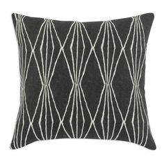 This grey Chooty pillow will add a nice touch to your decor. Both attractive and long lasting, you will enjoy this pillow in your home.