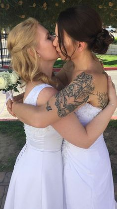 Lesbian Wedding Wedding Couples Cute Lesbian Couples Lesbian Pride Lesbian Love