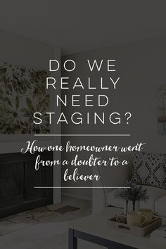 Do We Really Need Staging?