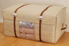 厚手のお布団ケースもガッチリホールドしてくれるお布団ケース。こちらも「収納の巣」さんからです。