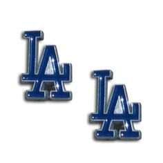 1b6abce13750 Luboh  MLB Los Angeles Dodgers Stud Earrings  5.99 USD Go Blue