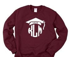 Monogrammed Senior 2021 sweatshirt, Personalized Class of 2021 sweatshirt, Senior shirt, Senior 2021 Shirt, Graduation Shirt, Class of 2022 shirts, Class of 2021 shirt, senior monogram, Senior 2021 shirts Senior Shirts, Graduation Shirts, Monogram, Graphic Sweatshirt, Sweatshirts, Sweaters, Design, Fashion, Moda