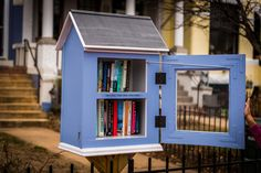 For the first post in this series, please see The Awesomeness of My Little Free Library So. You've been hearing about these Little Free Libraries and are intrigued, possibly even considering putting up your own. Or maybe you just love … Continued Little Free Library Plans, Little Free Libraries, Little Library, Mini Library, Library Books, Library Ideas, Street Library, Community Library, Lending Library