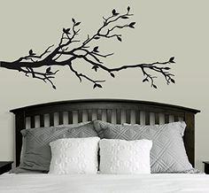 Tree Branch Wall Decal Sticker Nursery Decor Art Mural for sale online Wall Stickers Murals, Wall Decal Sticker, Nursery Wall Decor, Baby Decor, Art For Sale Online, Wall Art For Sale, Kids House, Tree Branches, Black Tree