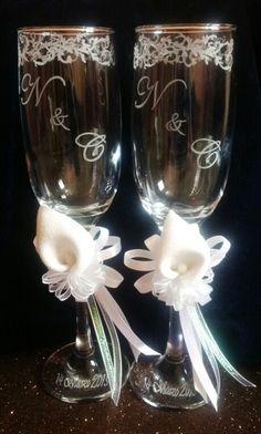 Grabadas a mano bodas