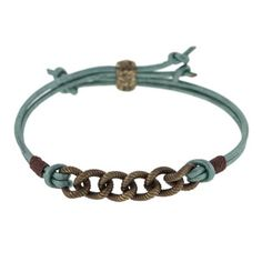 Design by our friends at Fusion Beads Leather and Links Option 4   Fusion Beads Inspiration Gallery  TierraCast ID Barrel Bead