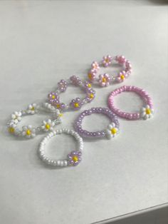 Diy Beaded Rings, Wire Jewelry Rings, Handmade Wire Jewelry, Diy Crafts Jewelry, Ring Crafts, Diy Rings, Bead Jewellery, Cute Jewelry, Beaded Jewelry