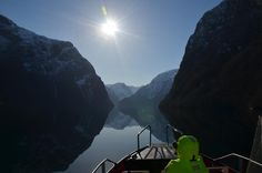 #TOURS #SWD #GREEN2STAY Fjord Tours Winter fjord safari. Great way to relax and see our famous Norwegian fjords.