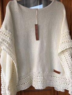 Crochet Shawl Pattern - Rings Of Lace Shawl Written Pattern - Triangulare Shawl Pattern - DIY Wrap S Crochet Motifs, Crochet Cardigan, Crochet Scarves, Crochet Shawl, Crochet Clothes, Crochet Stitches, Knit Crochet, Poncho Sweater, Modele Hijab