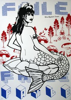 Mermaid - by Faile