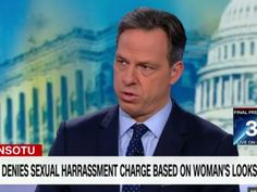 """Jake Tapper corrected a Trump surrogate who attempted to brush off sexual-misconduct allegations. """"This is sexual assault. So we're accusing a man of sexual assault here. And I'm not going to debate who is telling the truth, but this is a 'she said, he said' situation,"""" Ellmers said.    Tapper said: """"Just to correct you, it's a she said, she said, she said, she said, she said, she said, she said, she said, she said situation."""""""