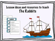 Lesson Ideas and Resources to Teach 'The Rabbits' by John Marsden and Shaun Tan…